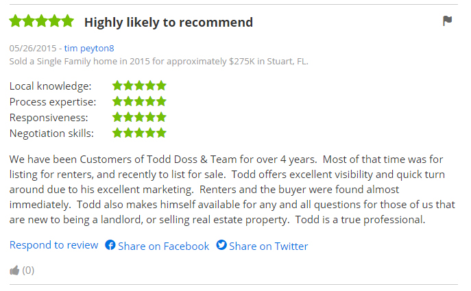 Testimonials and Reviews of Welcome Home Realty International Real